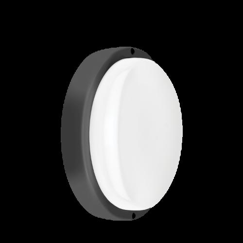 Tortuga LED 18W aro negro luz fría - Macroled