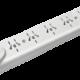 Zapatilla de 5 tomas multinorma sin cable, con llave térmica - TAAD