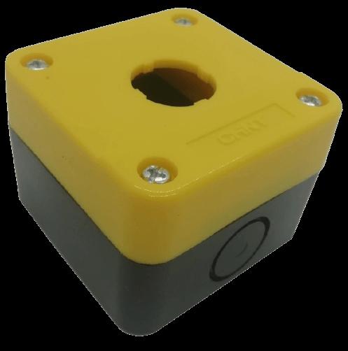 Caja vacía amarilla para NP2 - Chint