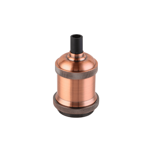 Portalámparas Jersey cobre E27 - Macroled