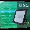 Caja de reflector-proyector LED 50W luz fría, foto trasera - King