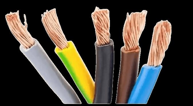 Cables unipolares de colores