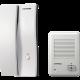 Kit portero eléctrico blanco con llamador blanco de superficie DP-201LA y DR201D - Commax