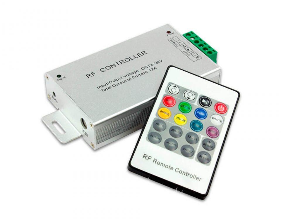 Controlador LED RGB IR