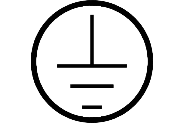 Símbolo de sistema de puesta a tierra