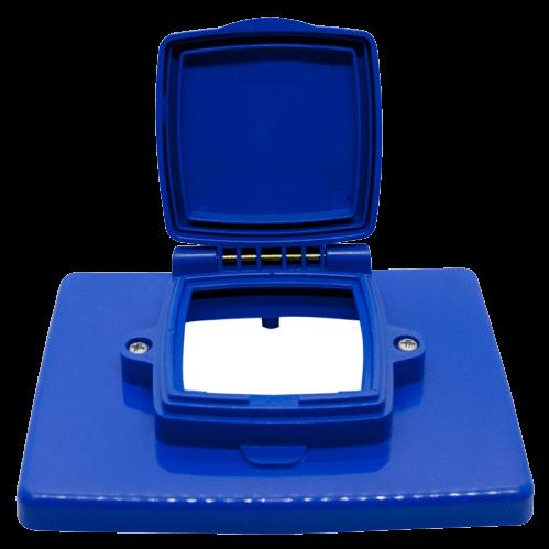 Caja capsulada PVC de embutir vacía - MIG