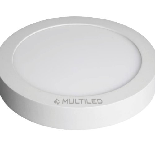 Plafón LED 18W Blanco redondo luz fría - Multiled