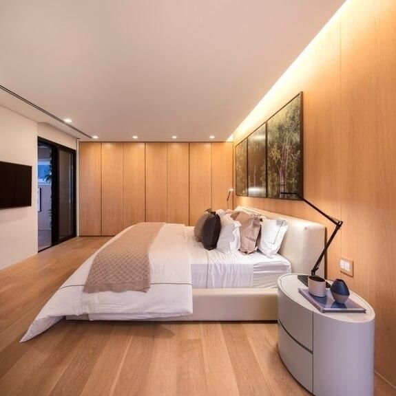Iluminación en dormitorio